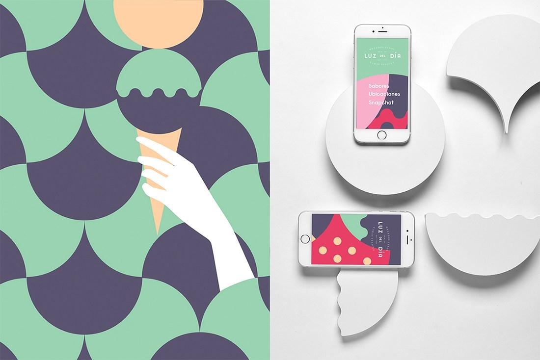 App Design for Cornetto Icecream