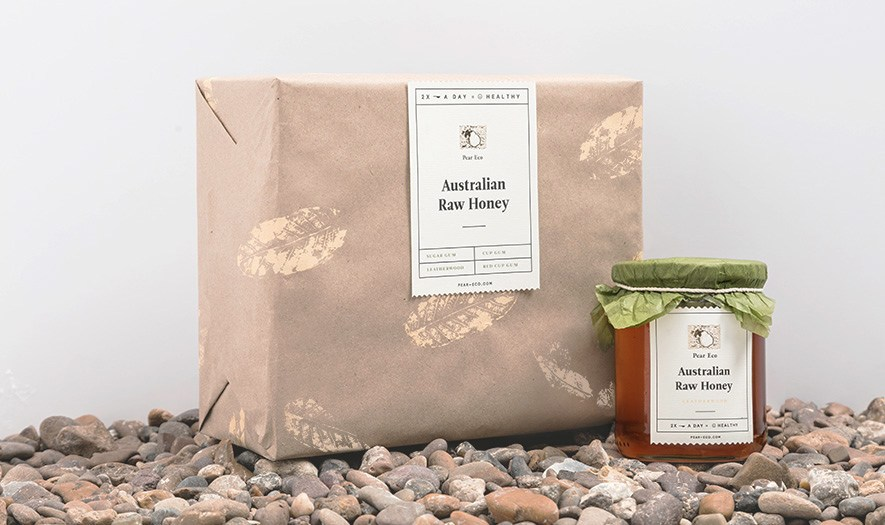 Packaging Design for Australian Honey